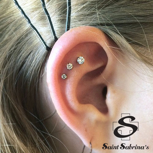 Piercings by Courtney Archives - Saint Sabrina's Ear Piercings Triple Helix